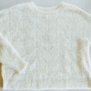 Band of Gypsies Sweaters - Band of Gypsies Dream of Me Fuzzy Sweater Size S